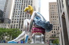 Jeff Koons on His Spectacular New Installation 'The Seated Ballerina'